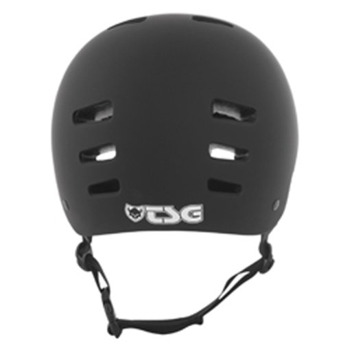 TSG Helm Evolution Solid Color - Flat-Black